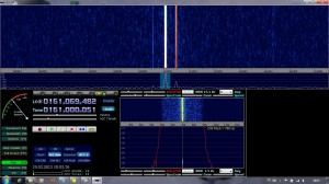 S9 bei 161 MHz
