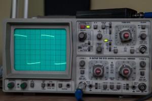 Oscilloskopmessung XG3