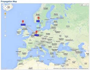 Propagation Map