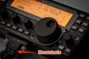 KX3 Morsetaste