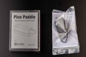 Palm Paddle und Halterung
