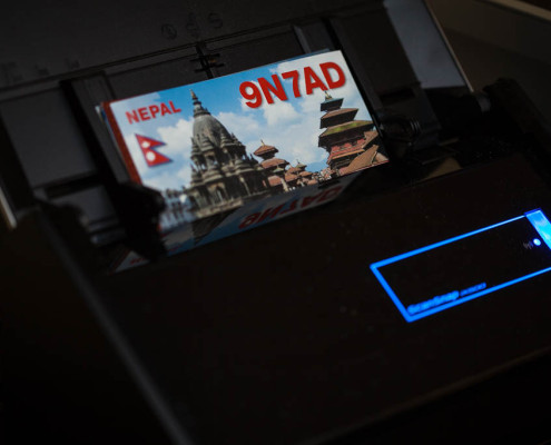 QSLs scannen