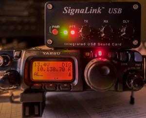 Ft-817 mit SignaLink