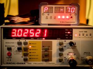 Frequenz des Oszillator