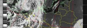 Wetterfaxbild