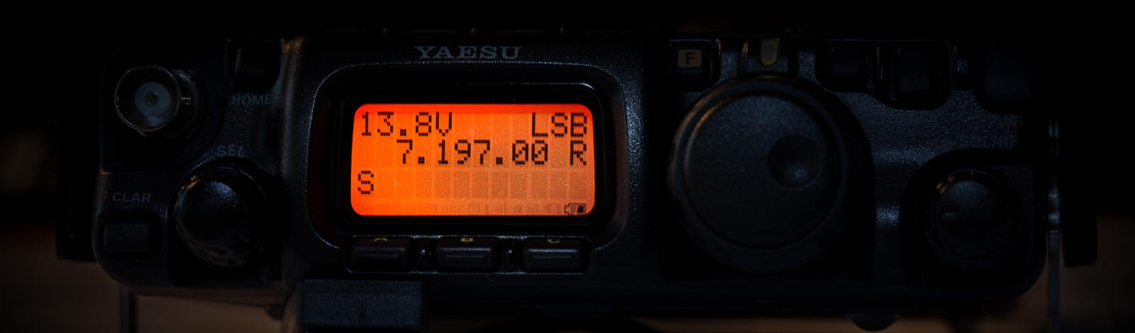 FT-817 für den Slider