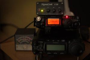 FT-817 mit Signalink WSPR