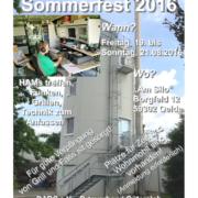 Einladung zum Sommerfest OV-N47