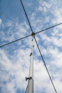 Frick Mast mit Spiderbeam